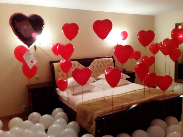Как украсить комнату на день рождения мужа 28 лет