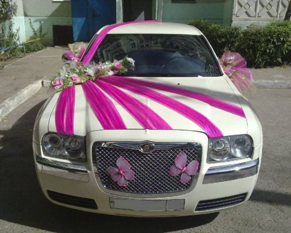 Свадьба украшения своими руками автомобили