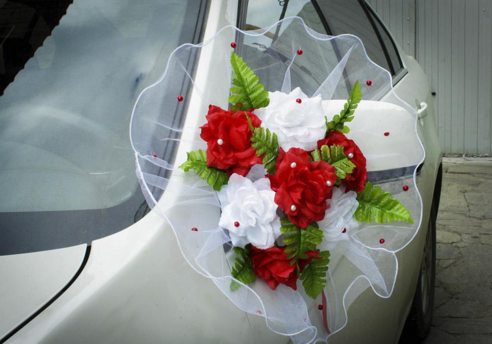 Как сделать украшения для свадебной машинЗаколки и