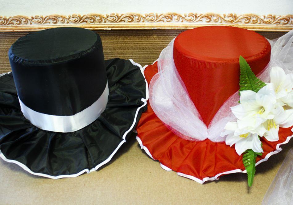 Свадебные шляпы своими руками 81