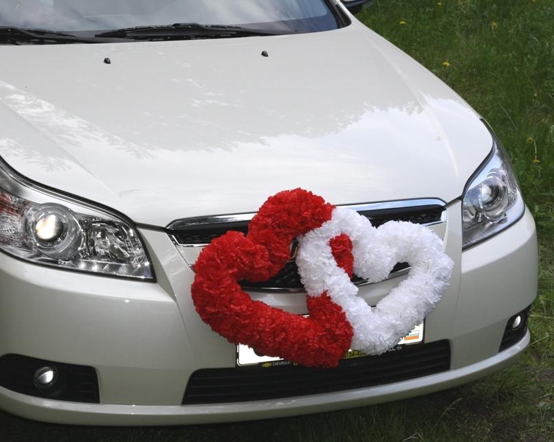 как сделать украшение для свадебных машин своими руками