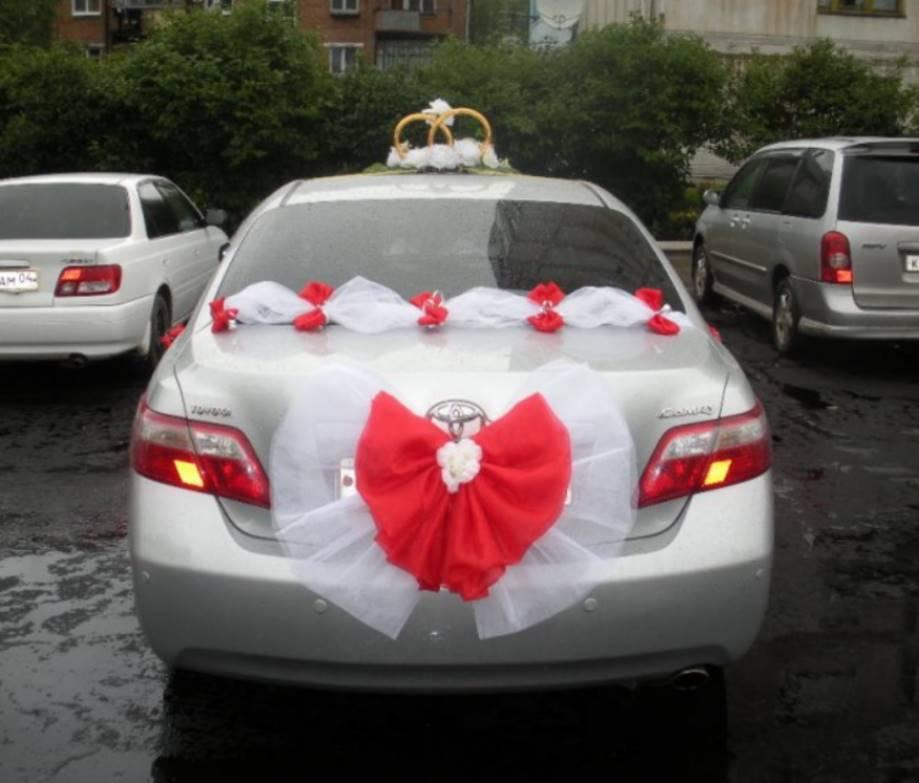 Банты на свадебные машины своими руками 77