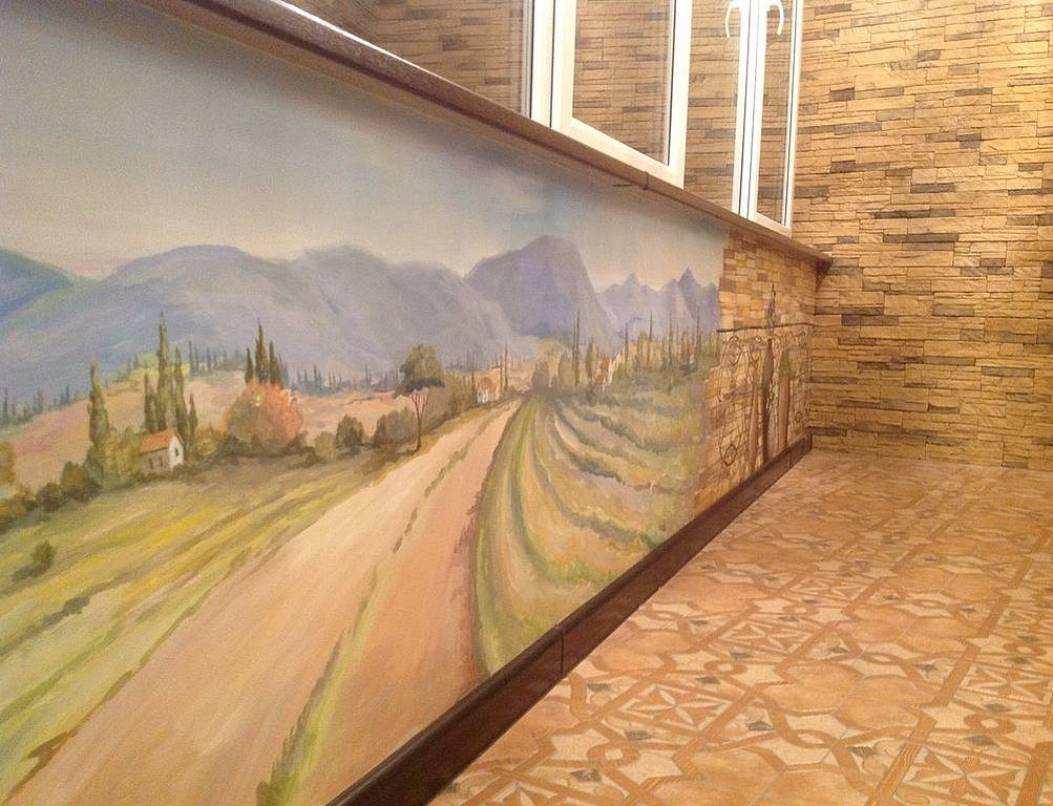 Купить роспись стен прованс в интернет магазине на Ярмарке м.