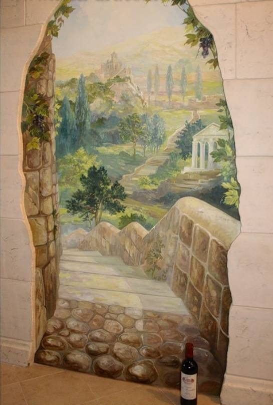 Панно окно на стену своими руками 64