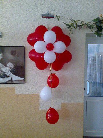 Как сделать украшения с шаров
