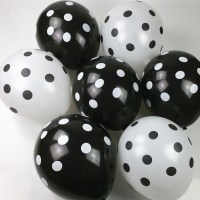 12-inch-2-8g-romantic-dots-polka-balloons-pink-black-blue-red-color-50pcs-lot-wedding