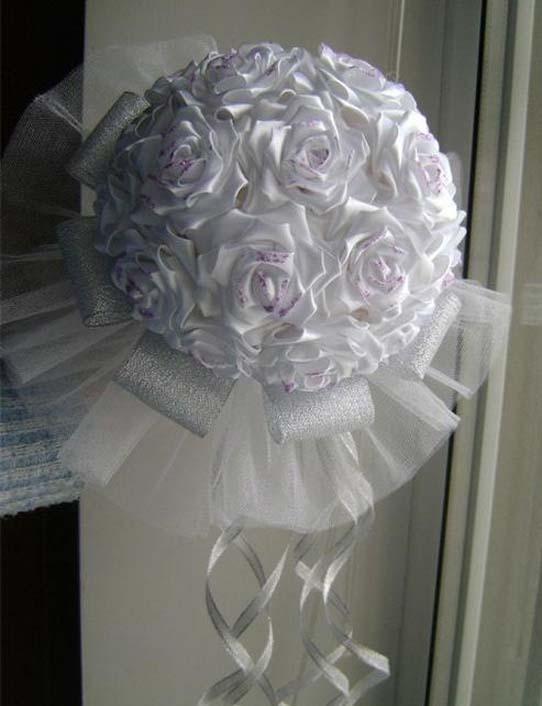 Как сделать букет невесты своими руками из