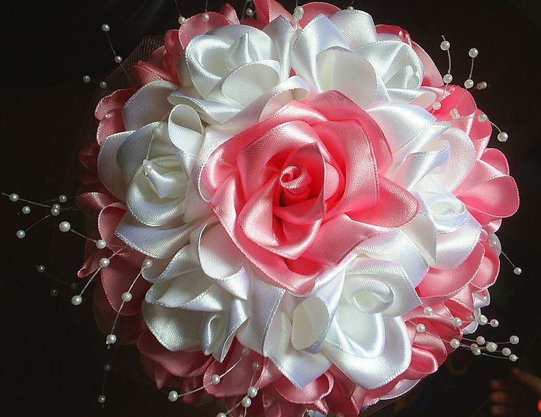 Большие цветы из гофрированной бумаги с пошаговым 152