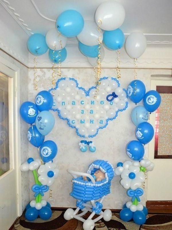 Украсить комнату при рождении ребенка своими руками 52